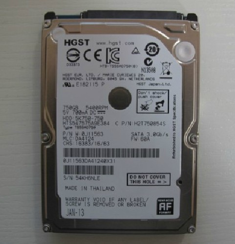 hdd sght 750gb laptop